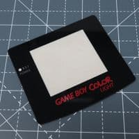 Game Boy Color Light - Strawberry Candy logo - Glass